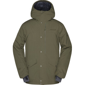 Norrøna Røldal Gore-Tex Insulated Parka Herre olive night